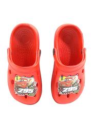 Disney Cars Crocs for Boys, 24.5 EU, Red