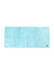 Disney Mickey Mouse Cotton Jacquard Towel for Boys, 60 x 120cm, Blue