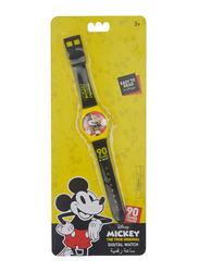 Disney Mickey Mouse Digital Watch for Boys, 3+ Years, Plastic, One Size, Multicolor