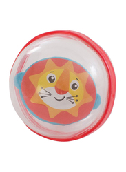 Playgro Bobbing Bath Balls for Kids, Clear/Red/Orange