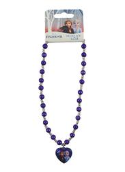 Disney Frozen II Bracelet for Girls, Purple/White