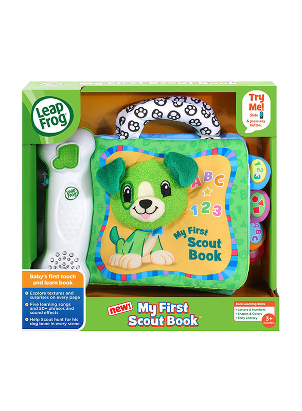 Leap Frog My First Scout Book, Ages 3 Months+