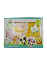 Disney Princess Baby Sac Wrap Zipper Swaddling Blankets for New Born, 80 x 90cm, Pink