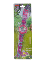 Disney Sofia The First Digital Watch for Girls, with Rotating Running Light, 3+ Years, One Size, Pink