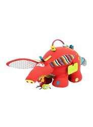 Dolce Musical Ant Bear Plush Interactive Stuffed Toy, Multicolour