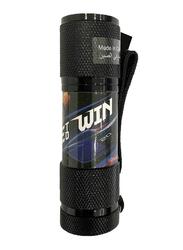 Disney Cars Portable LED Torch Flashlight, with Wrist Strap, Black