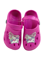 Sanrio Hello Kitty Crocs for Girls, 26.5 EU, Fuschia