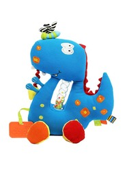 Dolce Play And Learn Dino Interactive Stuffed Plush Toy, Multicolour