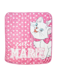 Disney Marie Cat Baby Sac Wrap Zipper Swaddling Blankets for New Born, 80 x 90cm, Pink