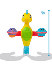 Playgro Flowing Bath Tap and Cups for Kids, Blue/Yellow/Green/Purple