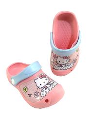 Sanrio Hello Kitty Themed Clogs for Girls, 29 EU, Light Pink