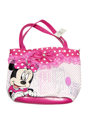 Disney Minnie Mouse Shoulder Bag for Girls, 3 Years & Above, Polyvinyl Chloride, One Piece, Multicolour