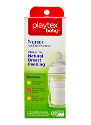 Playtex Anti-Colic Nurser with Drop-Ins Liners, 118ml, Clear