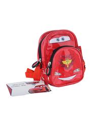 Disney Cars Lightning McQueen Backpack for Boys, Red