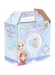 Disney Frozen Ceramic Dinnerware Breakfast Set for Girls, 3 Pieces, Multicolor