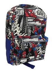 Marvel Spider-Man Comic Print 12-Inch Backpack for Boys, Pre School, Multicolor