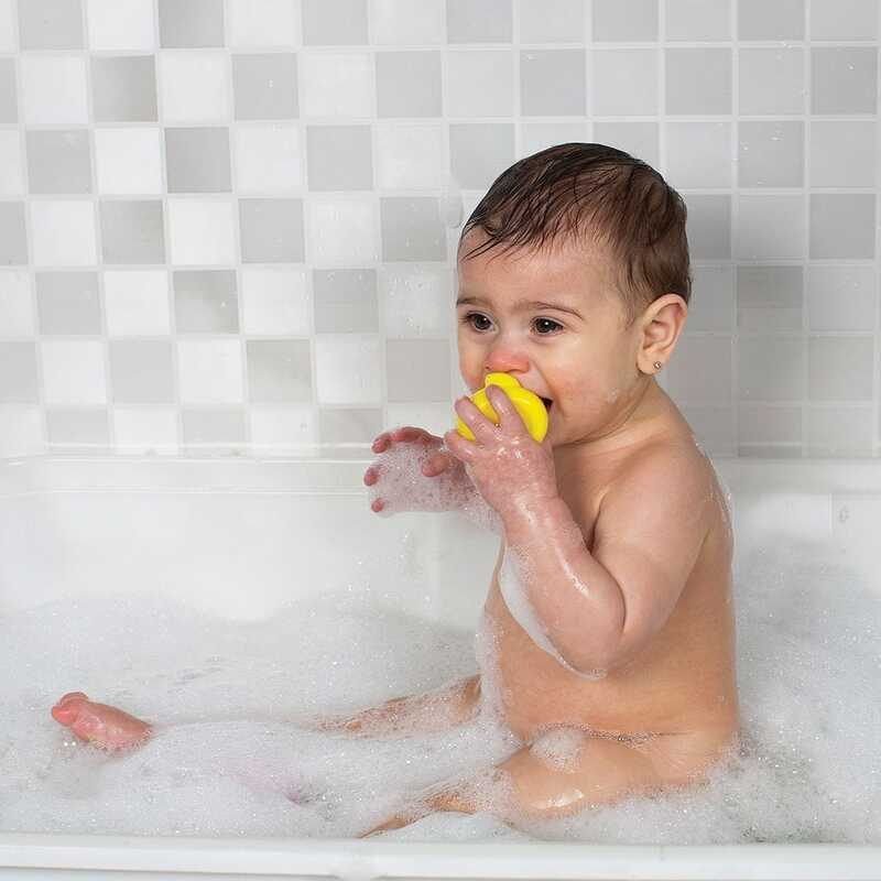 Playgro Fully Sealed Bath Duckie for Kids, Yellow