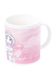 Disney Princess Can Shape Ceramic Mug for Girls, 300ml, Pink/White/Purple