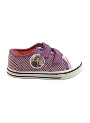 Disney Frozen II Velcro Sneakers for Girls, 25 EU, Lilac