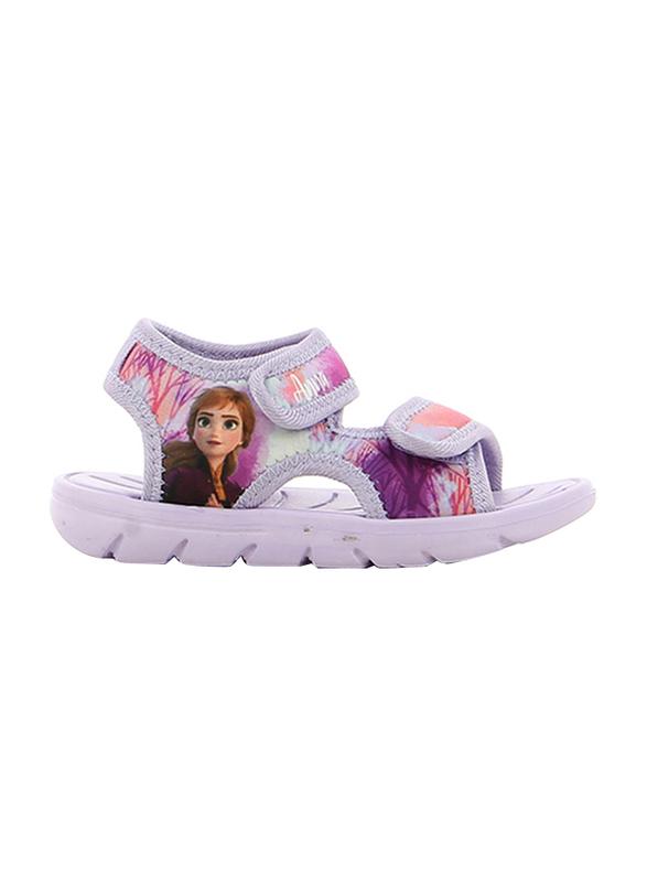Disney Frozen II Sandals for Girls, 32 EU, Lilac
