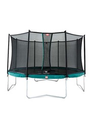 Berg Favorit 12 Feet Trampoline with Safety Net Comfort, 380cm, Ages 6+