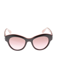 Vogue Full Rim Butterfly Brown Sunglasses for Women, Pink Lens, VO2872S-218714, 50/19/135