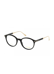 Tom Ford Full Rim Round Black Frame Unisex, FT-548500151, 51/22/145