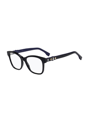 Fendi Full Rim Square Black Frame for Women, FN-0276-8075117, 51/17/145