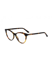 Dior Full Rim Cat Eye Havana Frame for Women, CD-MONTGNE57-0865215, 52/15/145