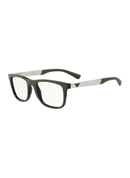 Emporio Armani Full Rim Square Brown Frame for Men, EM-3133-5668, 53/19/145