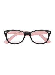 Ray-Ban Full Rim Rectangle Tortoise/Pink Frame for Girls, RY1528-3580, 48/16/125