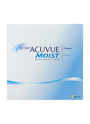 Acuvue Moist 1-Day Pack of 90 Contact Lenses, Natural, -0.75