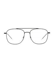 Emporio Armani Full Rim Square Black Frame for Men, EM-1076-3001, 54/17/140