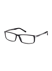 Porsche Design Full Rim Rectangle Black Frame Unisex, PD-8228A, 56/14/140