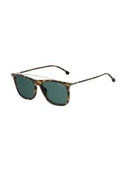 Carrera Full Rim Square Brown Sunglasses for Men, Blue Lens, CA-CRERA150S-3MA55KU, 55/18/145