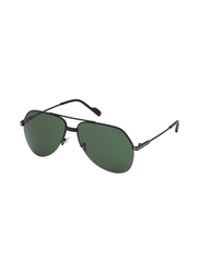 Tom Ford Full Rim Aviator Black Sunglasses for Men, Black Lens, FT-064401N62, 62/15/140