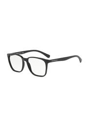 Emporio Armani Full Rim Square Black Frame for Men, EM-3127-5001, 55/17/145