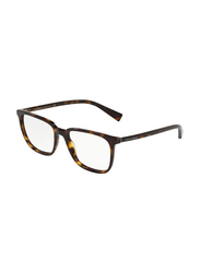 Dolce & Gabbana Full Rim Square Havana Frame for Men, DG3298-502, 53/18/145