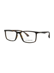 Zainia Full-Rim Rectangle Turtle Computer Glasses for Men, with Blue Light Filter, Clear Lens, ZNF-Z1142-C404-BC, 54/18/140