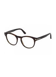 Tom Ford Full Rim Round Havana Frame Unisex, FT-542605249, 49/19/145