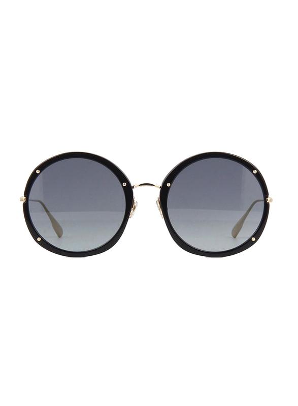 Dior Full Rim Round Havan Brown Sunglasses for Women, Blue Lens, CD-RHYPNOTC1-2M2561I, 56/23/145