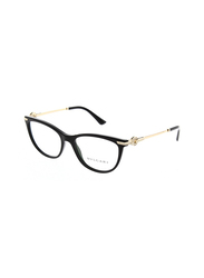 Bvlgari Full Rim Cat Eye Black Frame for Women, BV4155B-501, 54/17/140
