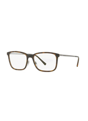 Burberry Full Rim Rectangle Havana Frame for Men, BU-1315-1008, 54/17/145