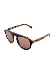Dolce & Gabbana Full Rim Round Brown Sunglasses for Men, Brown Lens, DG4306-31184R, 53/23/145