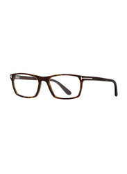 Tom Ford Full Rim Rectangle Havana Frame for Men, FT-529505254, 54/17/145