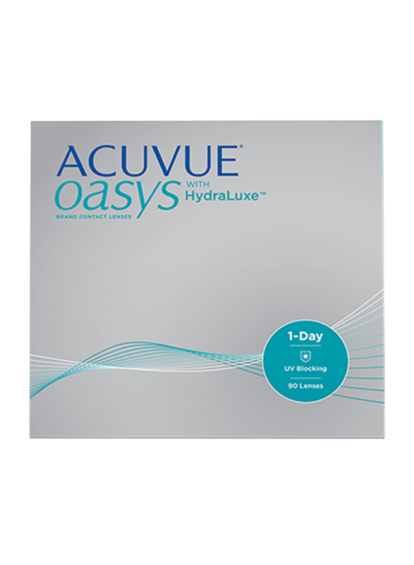 Acuvue Oasys1-Day with Hydraclear Plus Packs of 90 Contact Lenses, Natural, -4.25