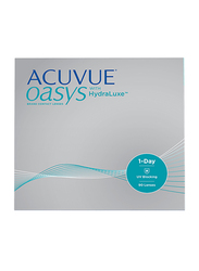 Acuvue Oasys 1-Day with Hydraclear Plus Packs of 90 Contact Lenses, Natural, -4.25