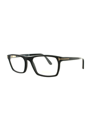Tom Ford Full Rim Rectangle Matte Black Frame for Men, FT-529500254, 54/17/145