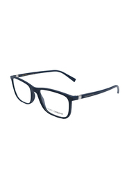 Dolce & Gabbana Full Rim Rectangle Matte Blue Frame for Men, DG5027-3017, 55/18/140
