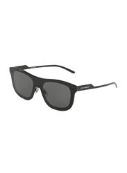 Dolce & Gabbana Full Rim Square Black Sunglasses for Men, Grey Lens, DG2174-01/87, 42/0/145
